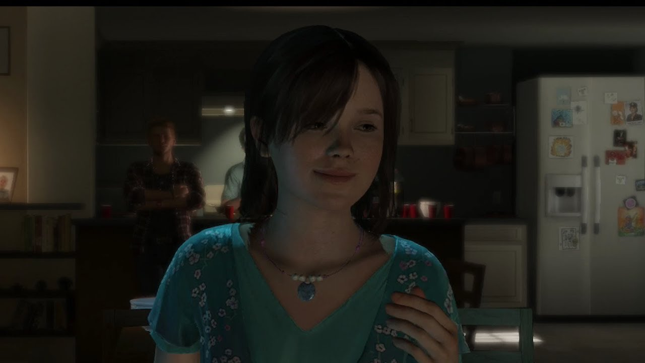 Beyond two souls jodie shower pics