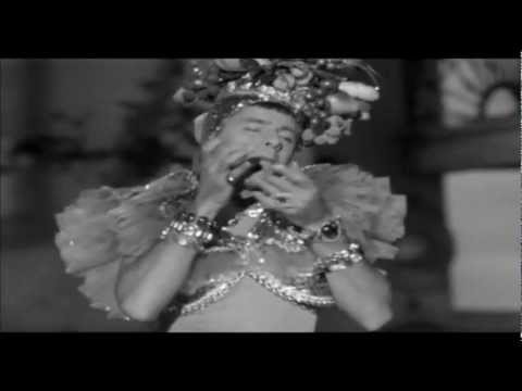 Jerry Lewis de Carmen Miranda(Morrendo de Medo-1953)