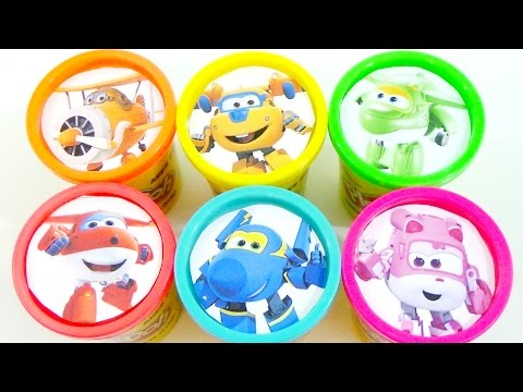 Thumbnail: Learn Colors with SUPER WINGS, Jerome, Dizzy, Jet, Donnie and Mira 출동 슈퍼윙스