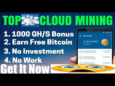 WOW😱FREE BITCOINS!! 1Ƀ Best Free Cloud Mining Site 2020| Earn Free Bitcoin Every Day + No Investment
