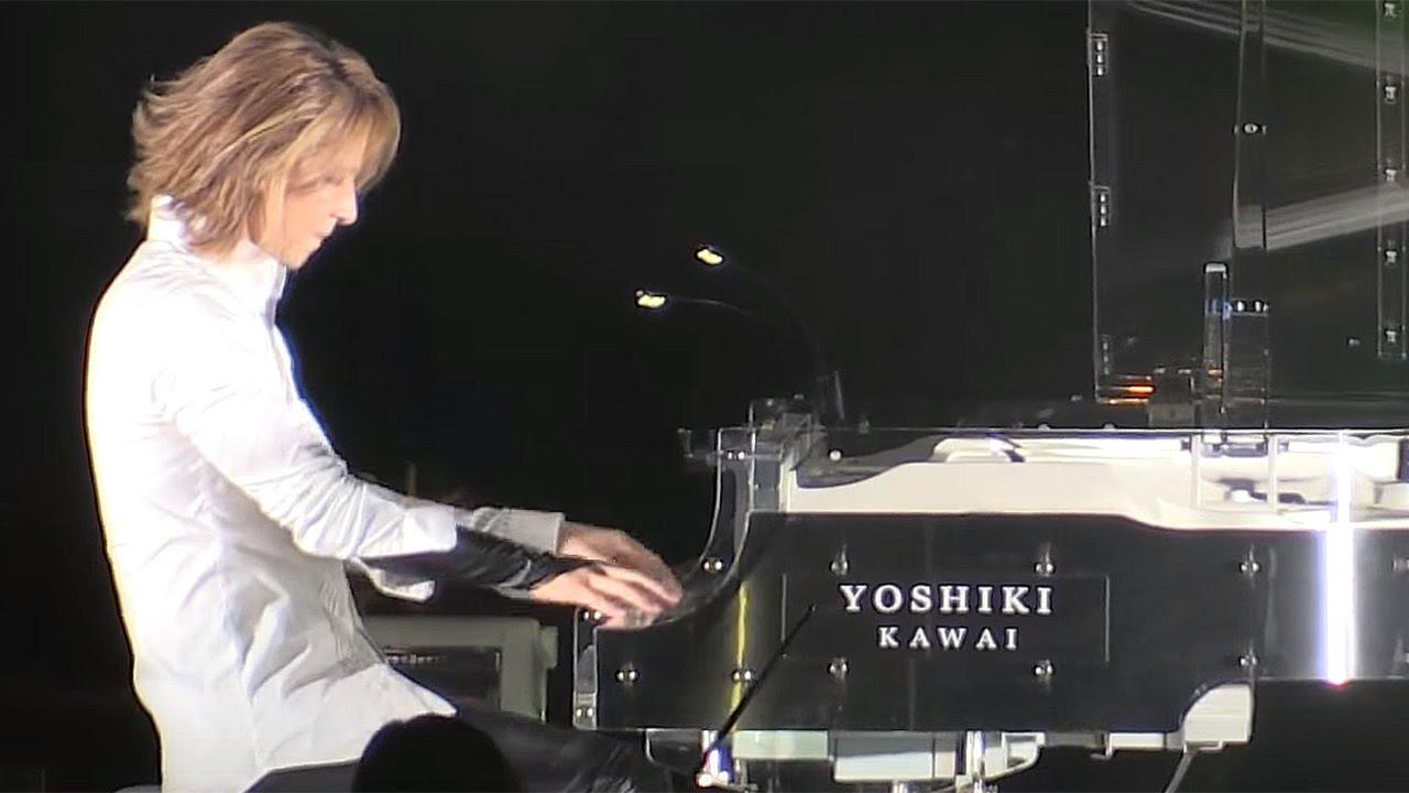 YOSHIKI、ピアノ演奏も披露!私物チャリティーオークションで総額420万円!「ミス・インターナショナル×YOSHIKI チャリティガラ2015」1  YOSHIKI X JAPAN , YouTube
