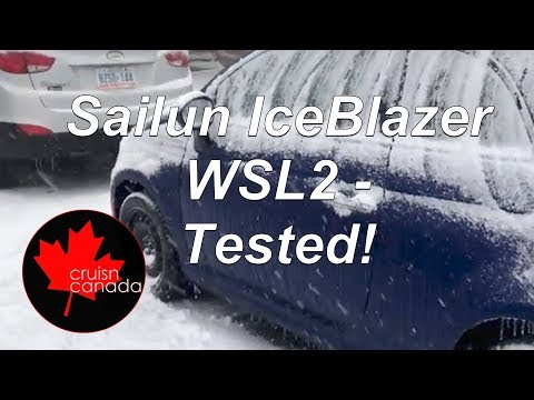 Sailun IceBlazer WSL2 Winter Tire Review - Tested on Fiat 500