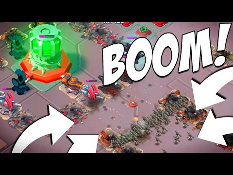 ALL ZOOKAS SAVE THE CORE! iPAD PRO GAMEPLAY! Boom Beach
