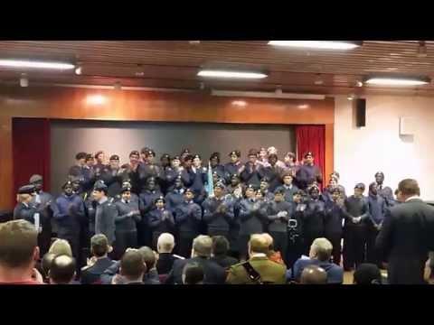56 (Woolwich) Squadron Lees Trophy Winners of 2015