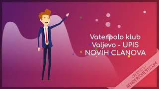 VK Valjevo vrši upis novih članova.