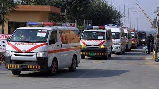 32 выживших в авиакатастрофе недалеко от Карачи