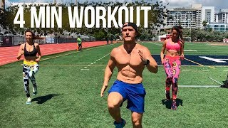 How to burn fat and increase endurance. Tabata workout with Deny Montana