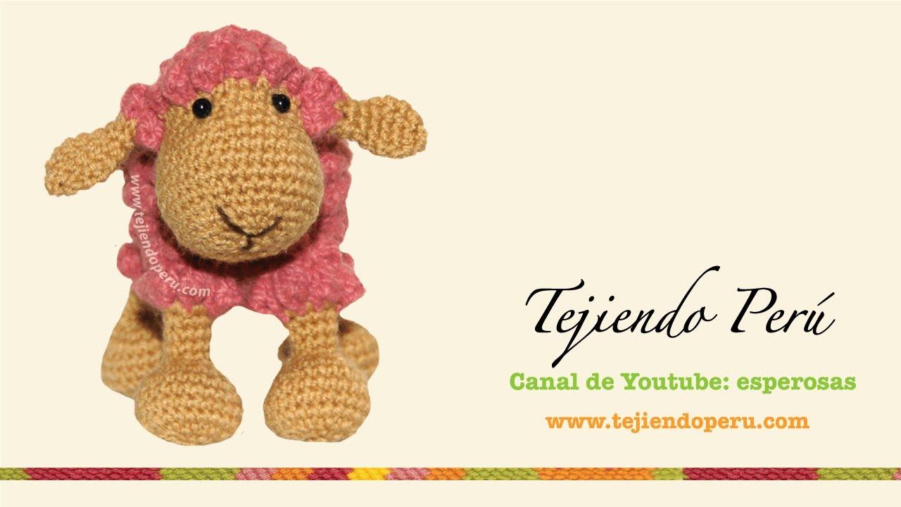 Ovejas tejidas a crochet (amigurumi) Parte 2: tejiendo la cabeza ...