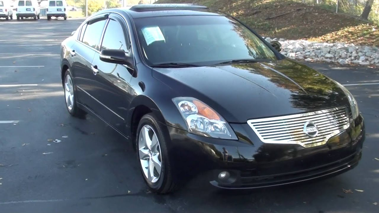 for sale 2007 nissan altima 3.5 se !! stk# 20100b www.lcford