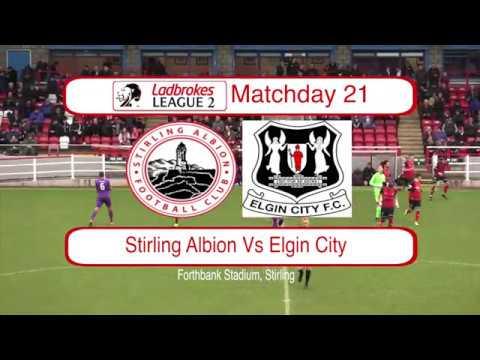 Stirling Elgin Goals And Highlights