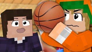 Basketball mit Zombey  「Minecraft: JumpWorld」
