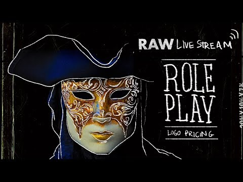 🔴 RAW: Logo Pricing Challenges Roleplay & Selling Design W/ Social Proof | Live Stream