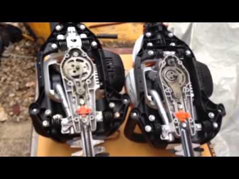 STIHL HS81R. Gear box improved.