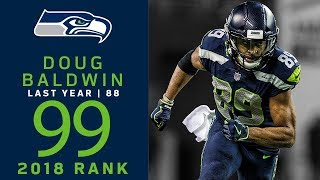 #99: Doug Baldwin (WR, Seahawks) | Top 100 Players of 2018 | NFL