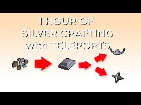 [OSRS] Silver Crafting In F2P | Best F2P Ironman Crafting Method