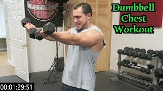 Intense 5 Minute Dumbbell Chest Workout