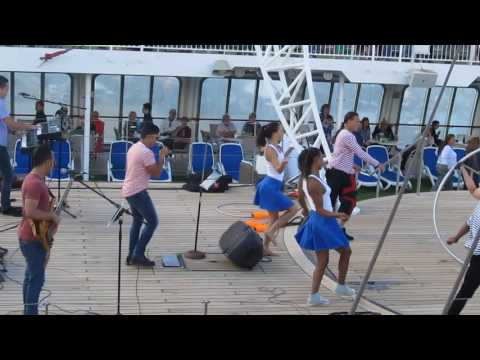 P&O PACIFIC JEWEL CRUISE WELCOME  & DEPARTURE PARTY - VANUATU TRIP