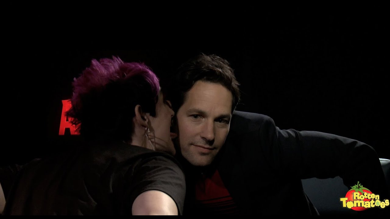 Ant Man Interview Paul Rudd S Face Gets Licked Again