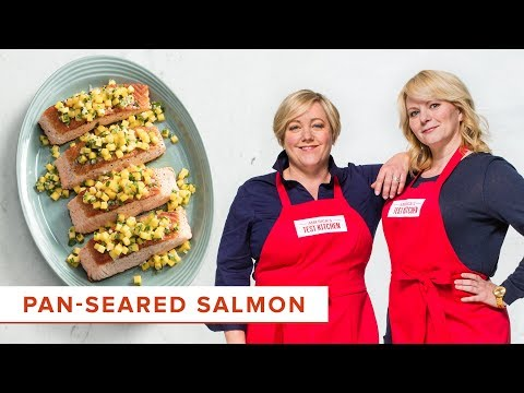 How to Make Foolproof Pan-Seared Salmon