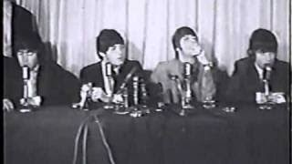 The Beatles: Press Conference at the Madison Hotel in Boston, MA (1964)