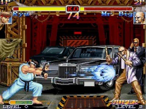 Street Fighter Vs Fatal Fury Mugen Gameplay Ryu Youtube