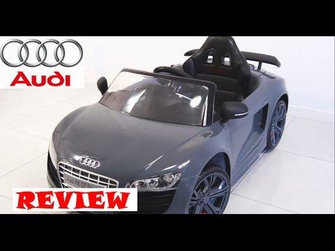 Audi R8 GT Spyder Kids Ride on Car - REVIEW