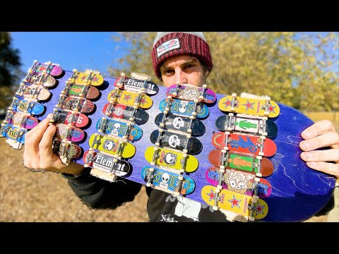 THE TECH DECK SKATEBOARD?!? | SKATE EVERYTHING EP.