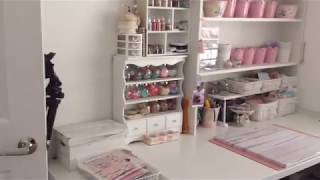 A Quick Tour Into My Craft Room - NEWLY RENOVATED