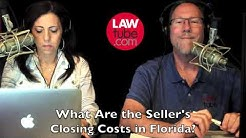 What are typical seller closing costs in Florida?