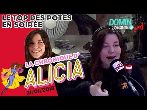 Le TOP des potes en soirée ! La chronique d'Alicia - DominGo Radio Stream sur NRJ