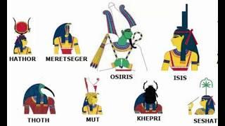 Ancient Egyptian Gods And Goddesses Names