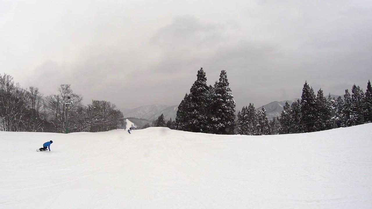 かぐらスキー場 VR ファミリーコース Kagura _ Family Trail