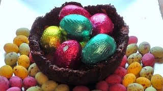 Easter Royal Chocolate Birds Nest