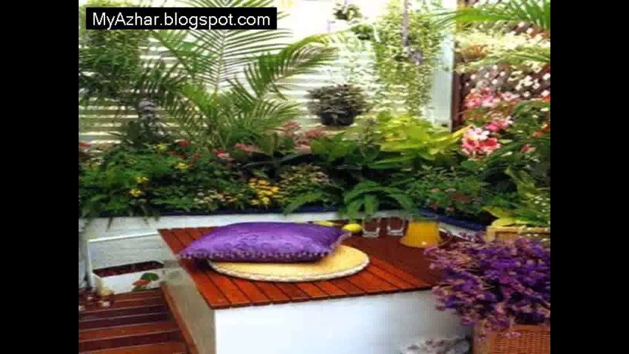 Apartment Design Ideas: apartment patio garden design ideas1 - YouTube