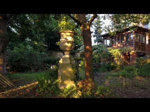 Belle maison et jardin