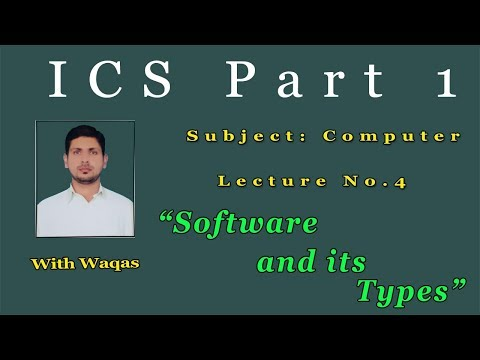 Software and its types in urdu and Hindi ||Easy tutorial for ICS students thumbnail