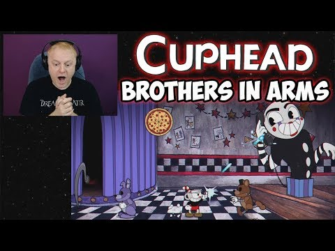 """TASTE REACTS #4 - NEW CUPHEAD SONG & LYRIC VIDEO """"BROTHERS IN ARMS"""" BY DAGAMES 