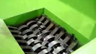 Plastic Crusher Work Video.flv