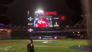 2019 Oct 30 Washington Nationals Winning World Series - Watch Party Perspective in Nationals Park