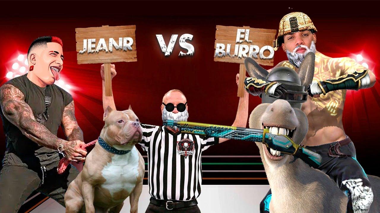 EL BURRO VS JEAN R  | EL PVP MÁS SPICY 🌶🔥 *Si el burro pierde jean r será el nuevo líder*