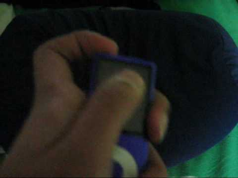 How to turn an Ipod nano 4th generation completely off!