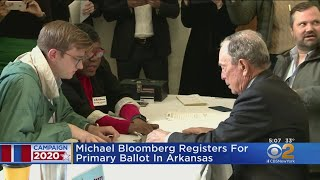 Michael Bloomberg Registers For Arkansas Primary