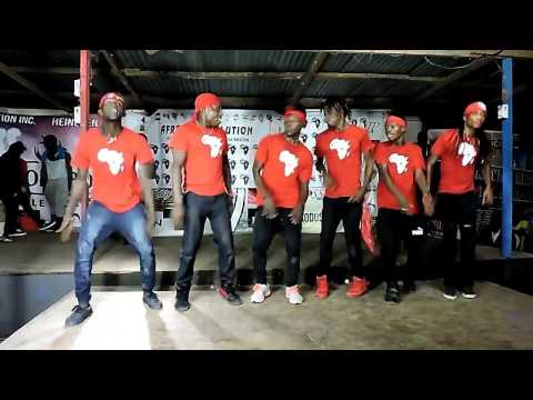 BEST DANCE CREW in LIBERIA at the DANCE FESTIVAL  AfroRevolution