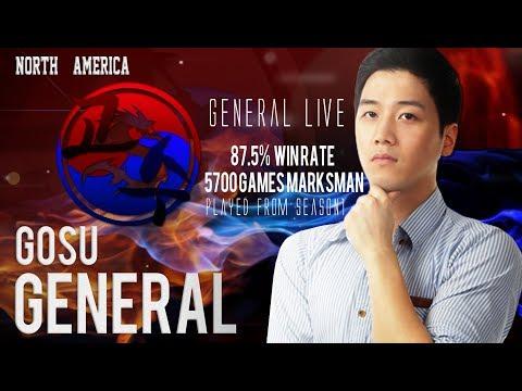 [ENG/한국어] Global No.1 Lesley / North America Marksman / Gosu General / Mobile Legends