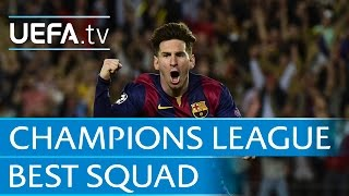 Messi, Pirlo, Ronaldo... the UEFA Champions League squad of 2014/15