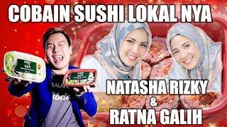 REVIEW SISSY RICE: SUSHI LOKAL DARI NATASHA RIZKY & RATNA GALIH