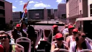 Red bus Launch in Johannesburg (18.2.2013)