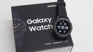 Samsung Galaxy Watch 42mm Review - Android Smartwatch