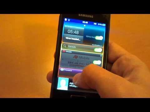 Samsung Wave 3 teszt