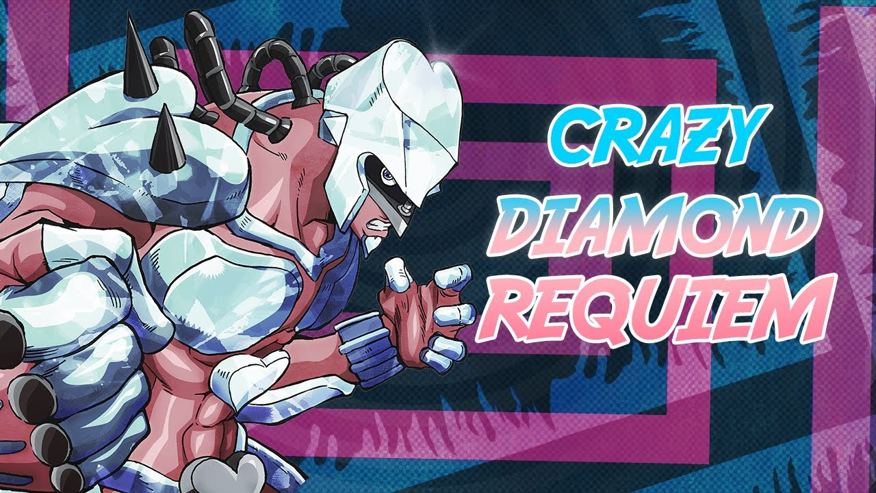 Stand Up Crazy Diamond Requiem Speculation Youtube Ripple master jojo vol.08 ch.076 the final trial vol.08 ch.077 the fruits of harassment vol.09 ch.078 the disturbing acdc vol.09 ch.079 laying some elaborate traps vol.09 ch.080 an ensured victory vol.09 ch.081 the insidious demon! stand up crazy diamond requiem speculation